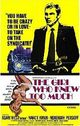 Affiche The Girl Who Knew Too Much