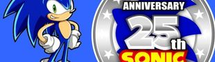 Cover Console Retro sans fil SEGA Mega Drive Edition Spéciale 25eme Anniversaire SONIC