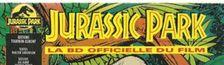 Cover Jurassic Planches: les dinosaures dans la BD européenne