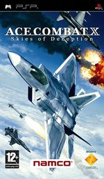 Jaquette Ace Combat X: Skies of Deception