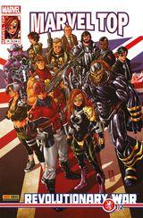 Couverture Marvel Top 14 - Revolutionary war 1/2