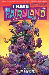 Couverture I Hate Fairyland, Volume 2: Fluff My Life