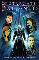 Couverture Stargate Atlantis : Back to Pegasus