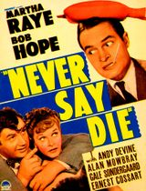 Affiche Never say die