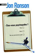 Couverture Êtes-vous psychopathe ?