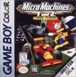 Jaquette Micro Machines 1 and 2: Twin Turbo