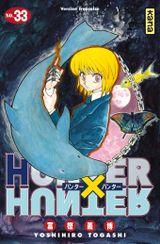 Couverture Hunter X Hunter, tome 33