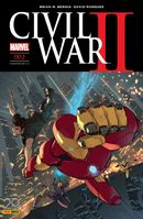 Couverture Civil War II, tome 2