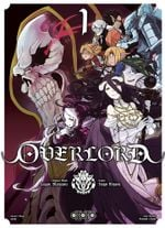 Couverture Overlord, tome 1