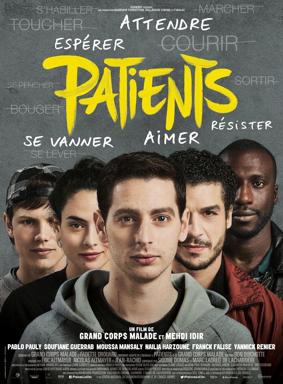 """Résultat de recherche d'images pour """"patients film affiche"""""""
