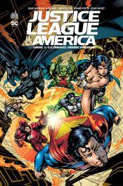 Couverture Le Nouvel Ordre Mondial - Justice League of America, tome 1