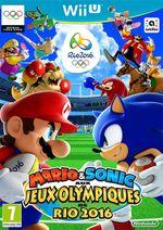 Jaquette Mario et Sonic aux Jeux Olympiques de Rio 2016