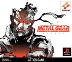 Jaquette Metal Gear Solid : Intégral