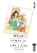 Couverture March comes in like a lion, tome 3
