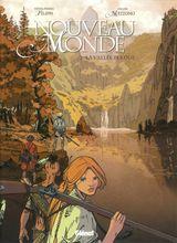 Couverture La Vallée perdue - Nouveau Monde, tome 2