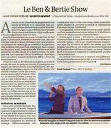 Affiche Le Ben & Bertie Show