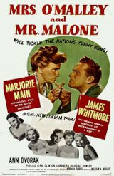 Affiche Mrs. O'Malley and Mr. Malone