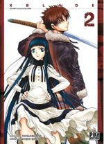 Couverture X-Blade Tome 2