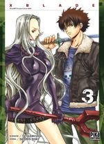 Couverture X-Blade Tome 3