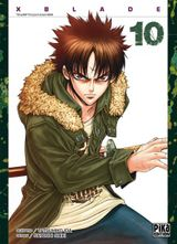 Couverture X-Blade Tome 10