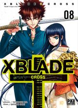 Couverture XBlade Cross Tome 8