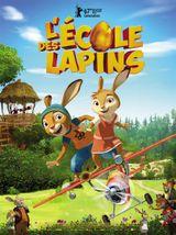 Affiche L'Ecole des lapins