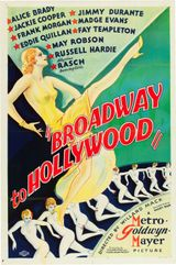 Affiche Broadway to Hollywood