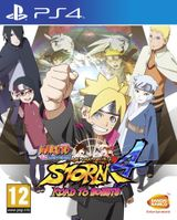 Jaquette Naruto Shippuden Ultimate Ninja Storm 4 Road to Boruto