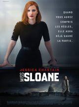Affiche Miss Sloane