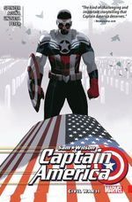 Couverture Civil War II - Captain America : Sam Wilson (2015), tome 3