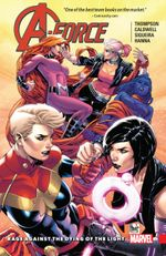 Couverture Rage Against the Dying of the Light - A-Force (2016), tome 2