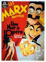 Affiche Une nuit à l'opéra