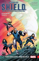 Couverture The Coulson Protocols - Agents of S.H.I.E.L.D. (2015), tome 1