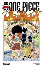 Couverture Davy Back Fight !! - One Piece, tome 33