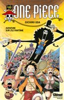 Couverture Aventure sur l'île fantôme - One Piece, tome 46