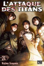 Couverture L'Attaque des Titans, tome 21