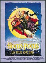 Affiche Hocus Pocus, les trois sorcières