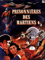 Affiche Prisonnières des martiens