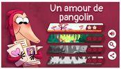 Jaquette Un amour de pangolin