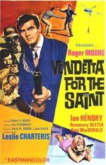 Affiche Vendetta pour le Saint