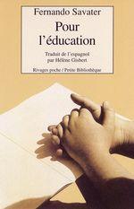 Couverture Pour l'éducation
