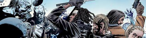 Cover Les meilleures BD The Walking Dead