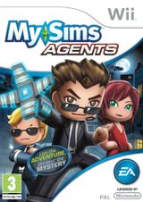 Jaquette MySims Agents