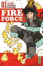Couverture Fire Force, tome 1