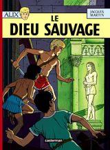 Couverture Le Dieu sauvage - Alix, tome 9