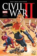 Couverture Civil War II, tome 3