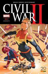 Couverture Civil War II, tome 3