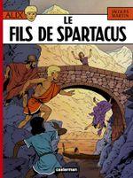 Couverture Le Fils de Spartacus - Alix, tome 12