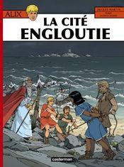 Couverture La Cité engloutie - Alix, tome 28