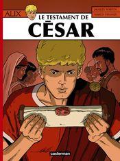 Couverture Le Testament de César - Alix, tome 29